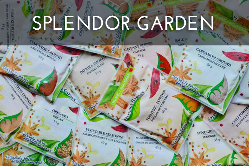 Crush Marketing Portfolio ~ Splendor Garden