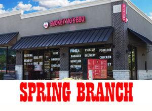 San Antonio BBQ Smokey Mo's BBQ Spring Branch Location, San Antonio BBQ