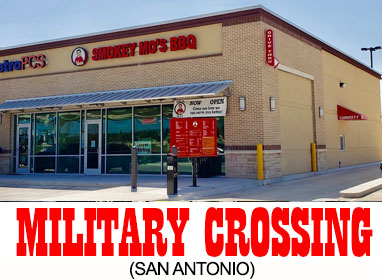 San Antonio BBQ location - Military Crossing