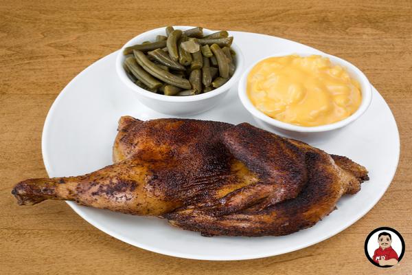 smoked chicken, grilled chicken