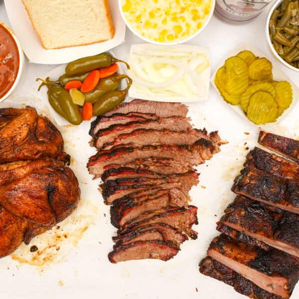 Smokey Mo's BBQ, Meat, Brisket, Chicken, bbq meat