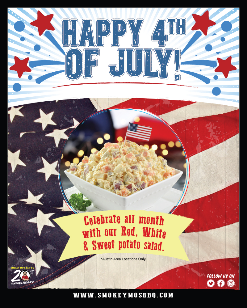 4th of July BBQ Specials