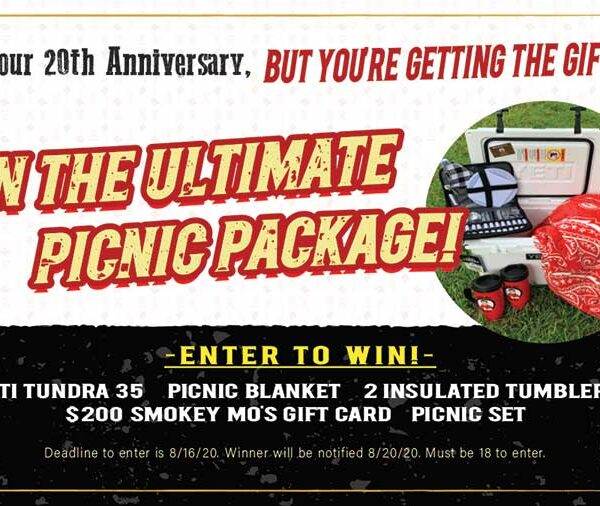 Smokey Mo's BBQ, San Antonio Contest, Picnic Package Giveaway
