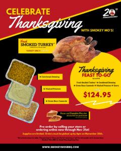 Order Holiday Smoked Turkey