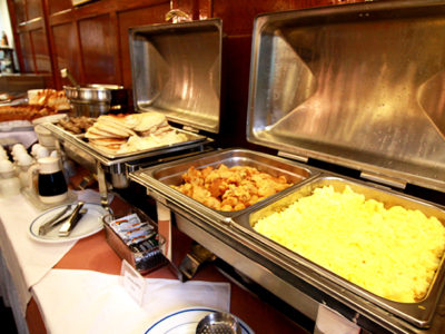 Hot Breakfast Daily Leo House NYC