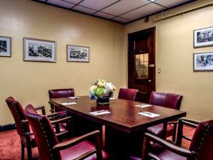 Business Amenitites Conference Room