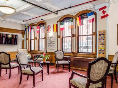 Lobby   The Leo House   NYC Hotel