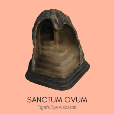 "Sacred Spaces Sculpture ""Sanctum Ovum"" by Ailene Fields"