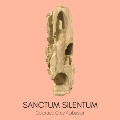 Sacred Spaces Sculptures by Ailene Fields SANCTUM SILENTUM