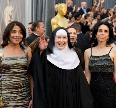 mother dolores hart at the oscars