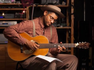Dom Flemons at Sheen Center April 2018