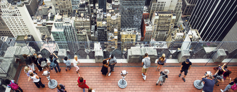 Rooftop Deck in NYC