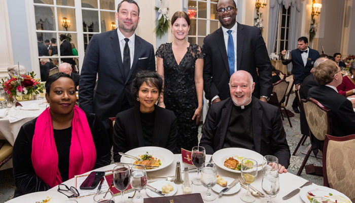 Monsignor Kevin Sullivan of Catholic Charities of New York at The Pope Leo XIII Award Fundraising Dinner Gala 2019