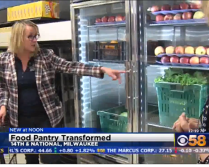 Food Pantry Transformed