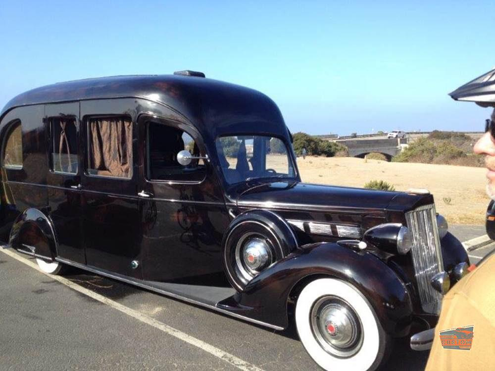A One Of One 1937 Packard RV