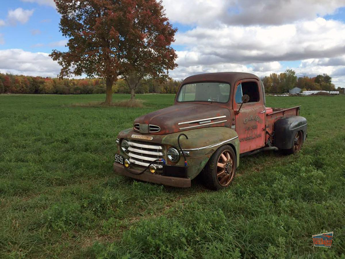 Old Mercury M-47 Truck Get Back On The Road