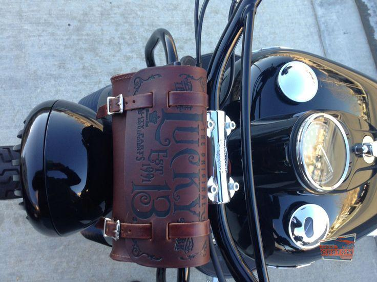 M.F.G. CO. Leather Tool Pouch – Antique Brown
