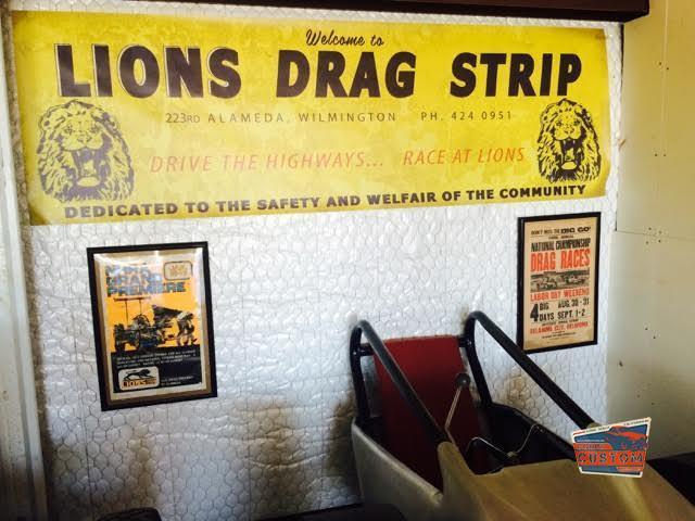 Drag racing's 1st live TV show Lions Drag Strip KTTV 1961