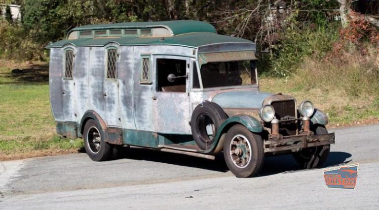 An Original 1929 Studebaker RV