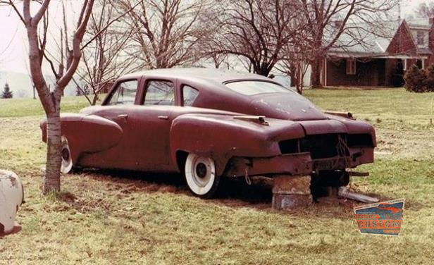 A $3 Million Tucker 48 Prototype Was Discovered