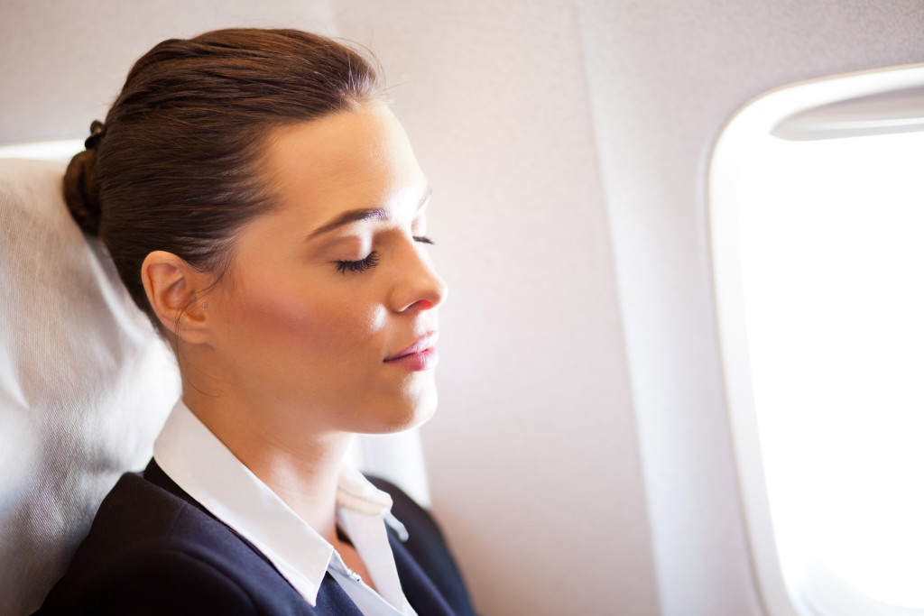 Reduce flight anxiety and stress