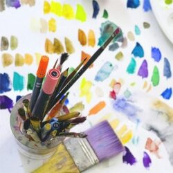 Fabric Painting & Art