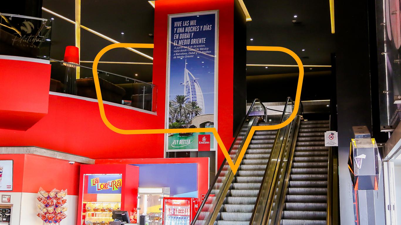 Publicidad en Elevadores de Centros Comerciales