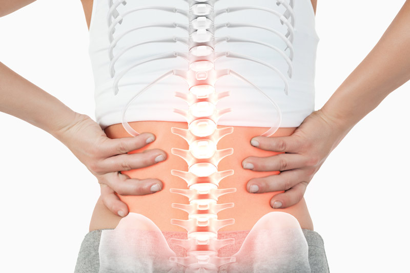 lower back pain caused by a tight iliopsoas muscle