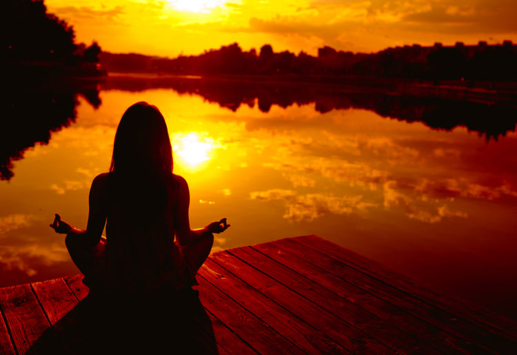 meditation slows down how much you age