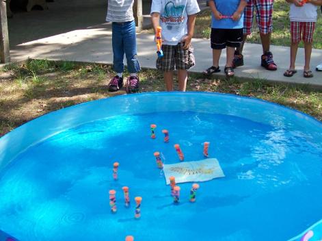 Summer birthday party idea