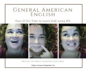 Monique Bagwell General American English Ad