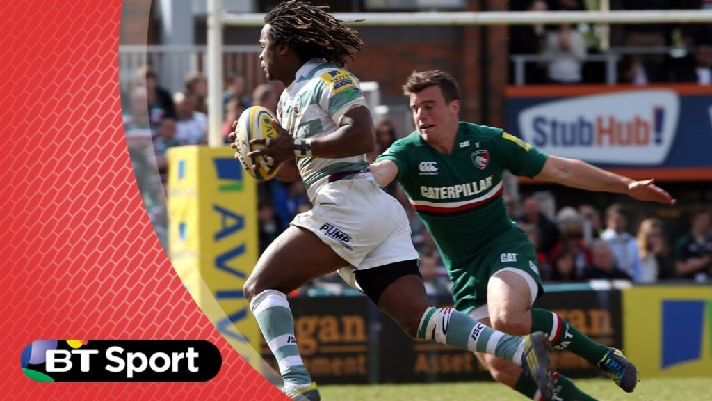Pitch Demo: Sidestepping masterclass with Yarde, Healey & Perry | Rugby Tonight
