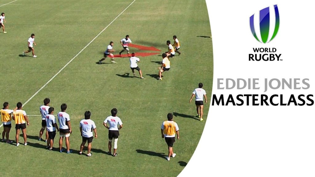 Coaching MASTER Eddie Jones reveals top attacking tips