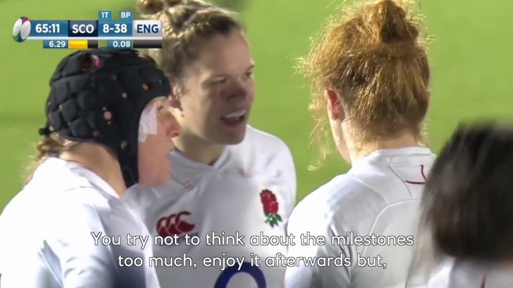 England Rugby's Rochelle Clark on 135 Caps | Women's Six Nations