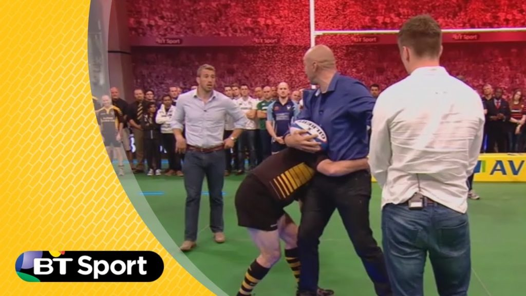 Pitch Demo: Owen Farrell & Chris Robshaw masterclass | Rugby Tonight