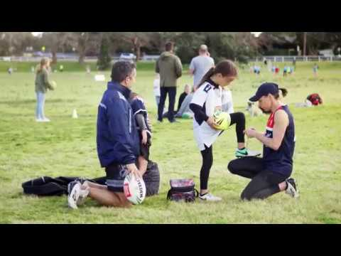 Play Touch Football!