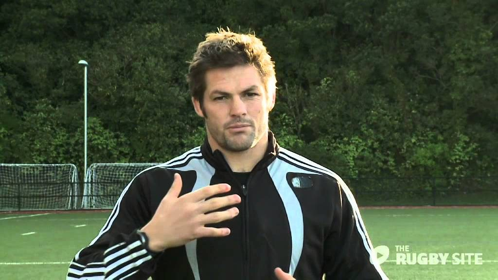 Richie McCaw – Set Piece Running Lines (behind the gain line)