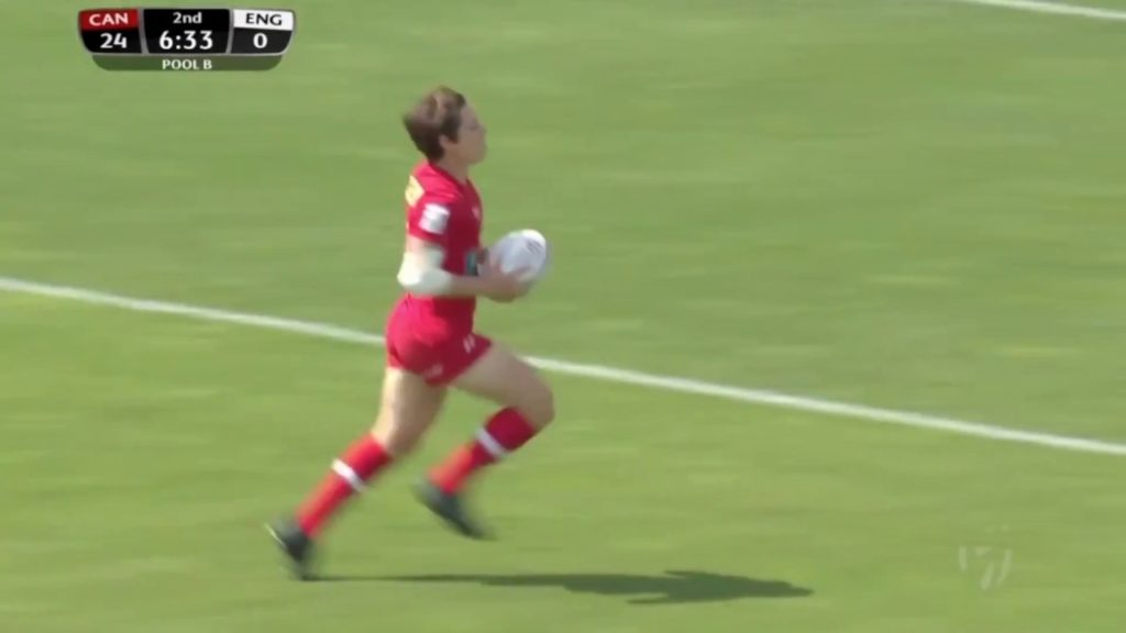 2017 Rugby Canada Women's 7s Player of the Year – Ghislaine Landry