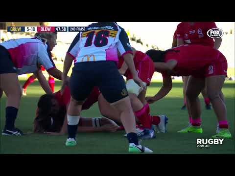 Buildcorp Super W Round Two: Brumbies vs Queensland