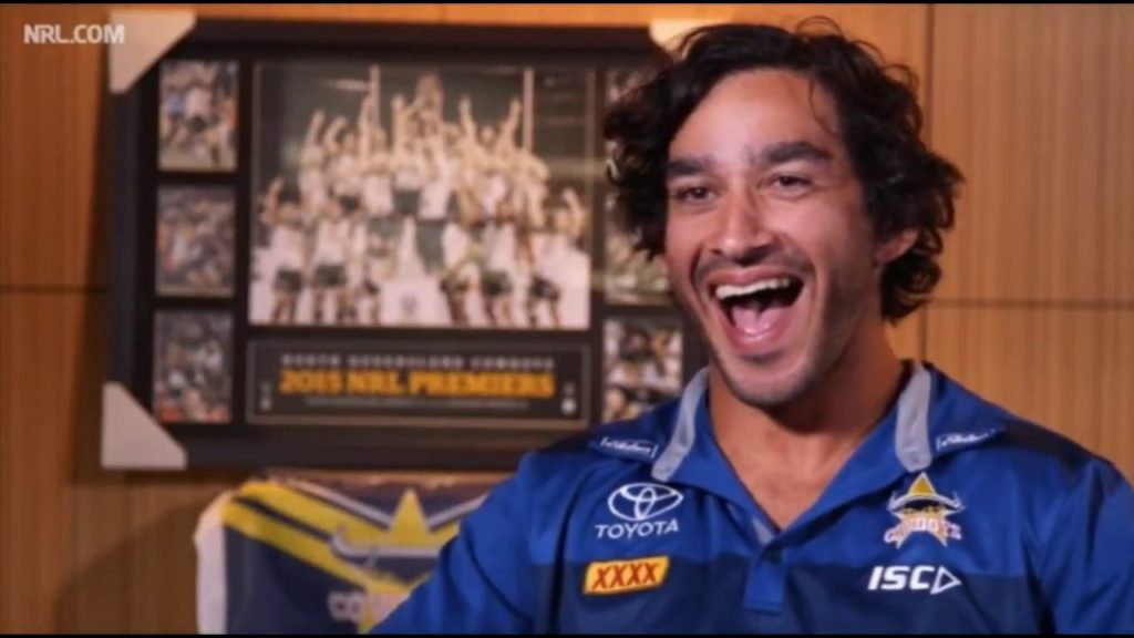 Having a Crack at Johnathan Thurston's Famous Laugh