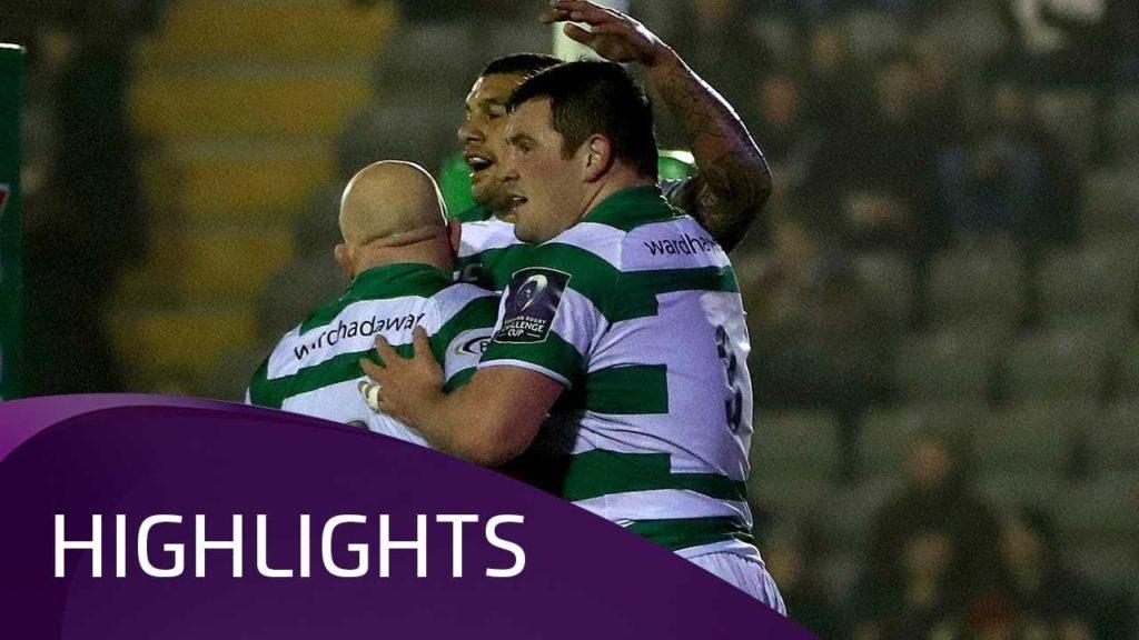 Newcastle Falcons v Brive (QF4) – Highlights – 30.03.2018