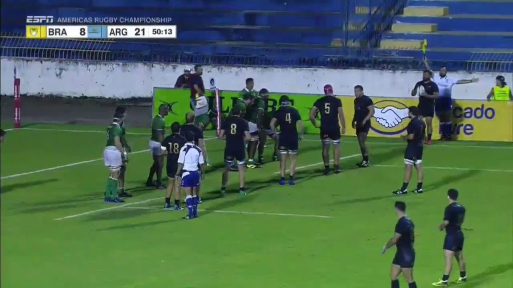 Epic football skills leads to Argentina try – Americas Rugby Championship