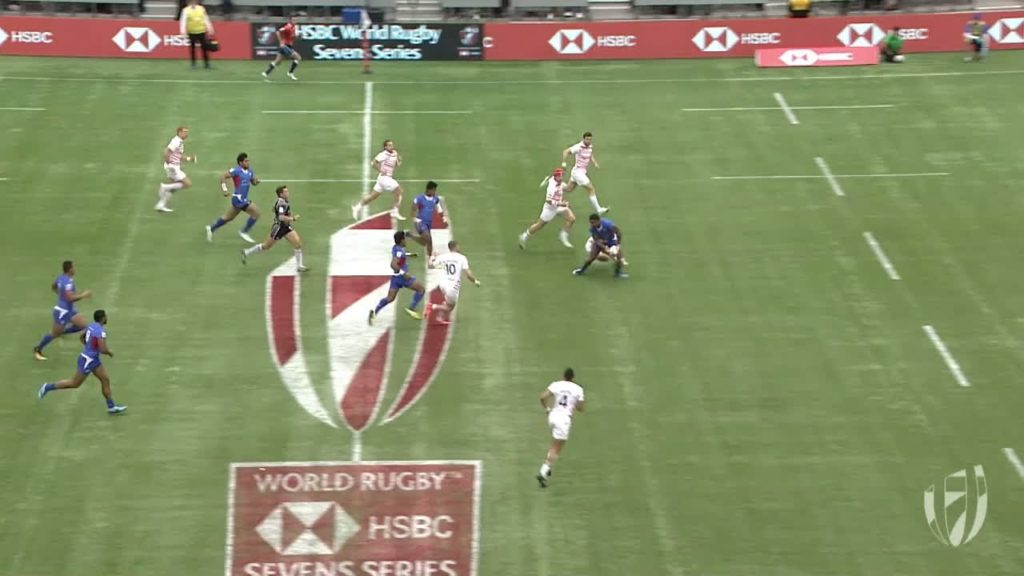 Relive: Samoa score beautiful try