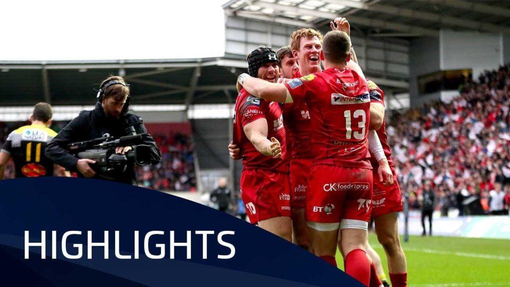 Scarlets v La Rochelle (QF2) – Highlights – 30.03.2018