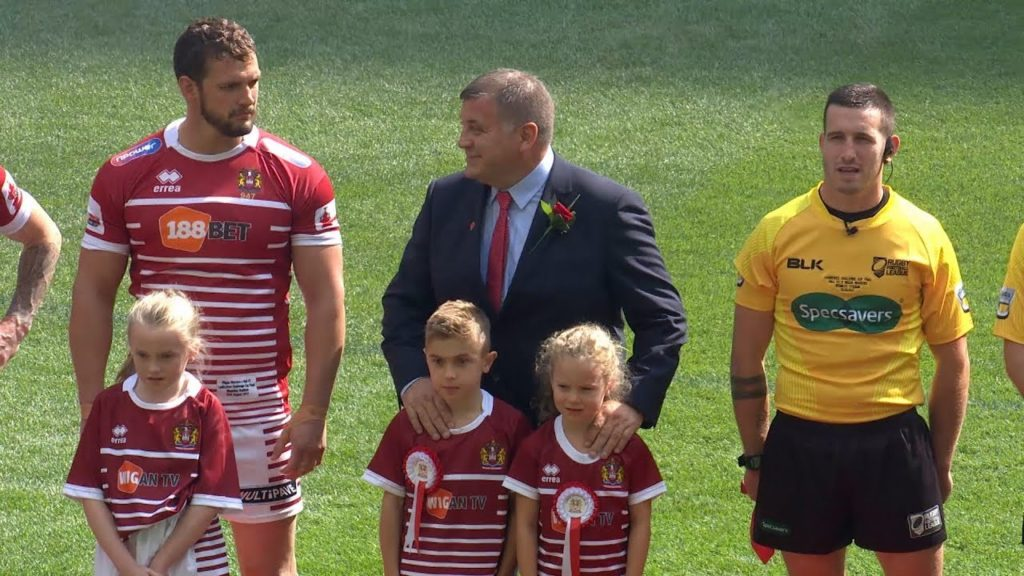 Super League Face-Off with Wigan Warriors