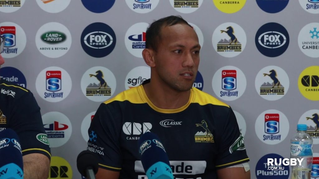 2018 Super Rugby Round Eight: Brumbies press conference