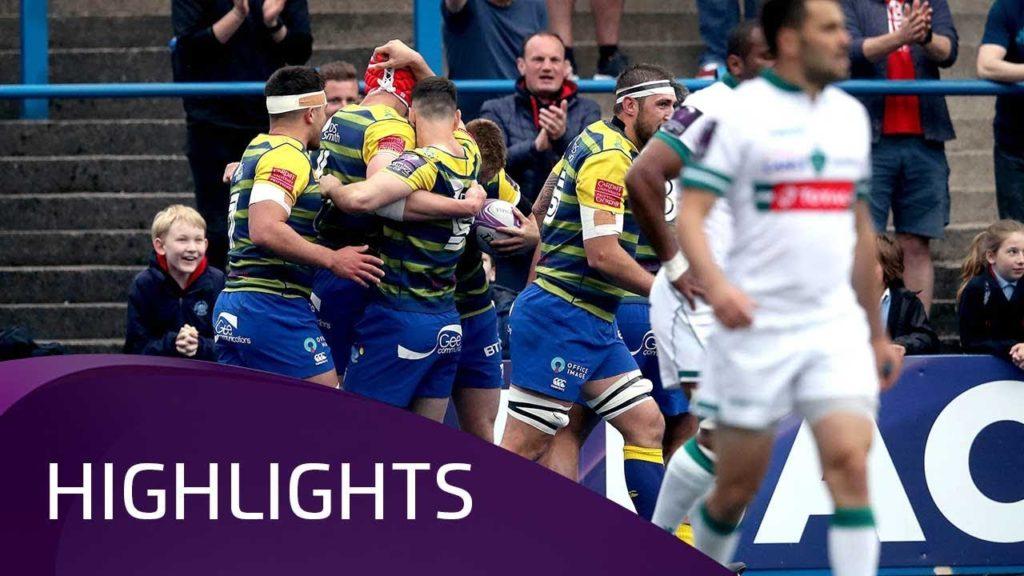 Cardiff Blues v Pau (SF) – Highlights – 21.04.2018