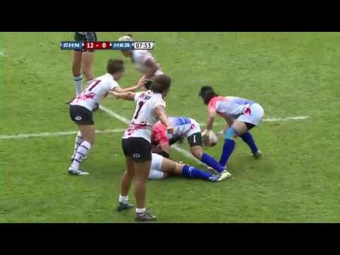 China Vs Hong Kong  | 2018 Womens Sevens Series Qualifier