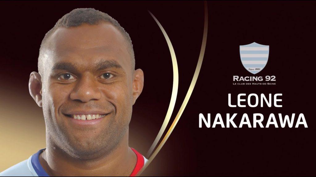 EPCR European Rugby Player of the Year 2018 – Leone Nakarawa