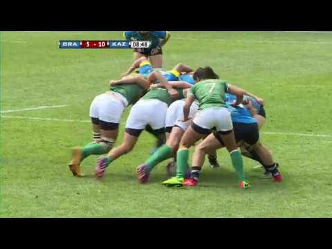 Kazakhstan Vs Brazil | 2018 Women's Sevens Series Qualifier